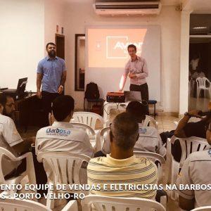 Treinamento - Barbosa Materiais Elétricos - Porto Velho - RO - 2019 -